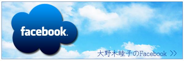 大野木睦子のFacebookバナー
