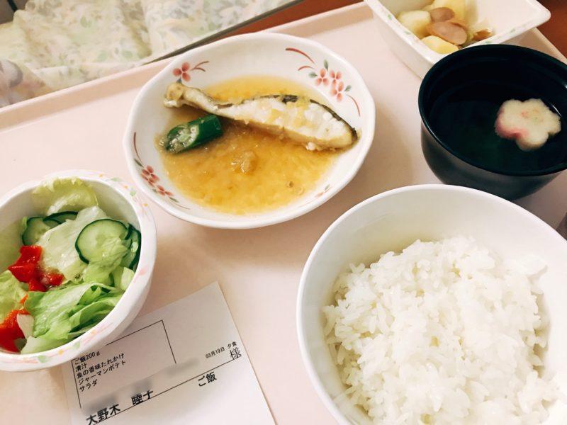19日夕食